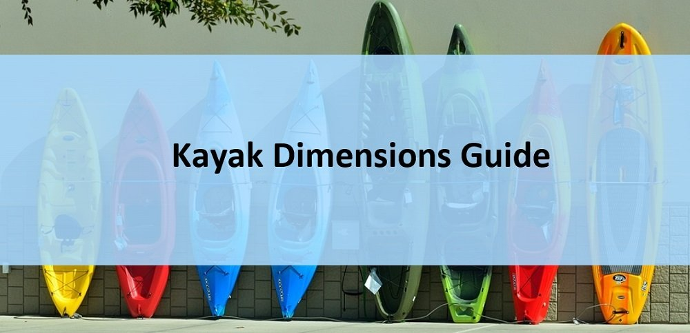 Kayaks of different lenghts, widths and heights