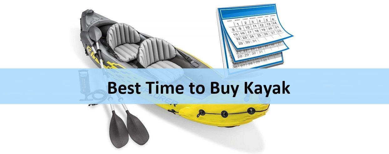 Best Time to Buy Kayak