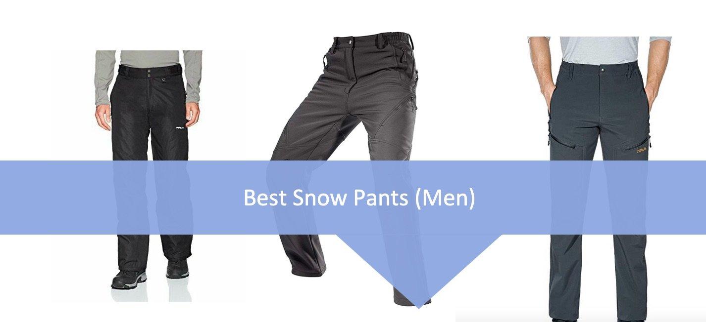 Best snow pants for men