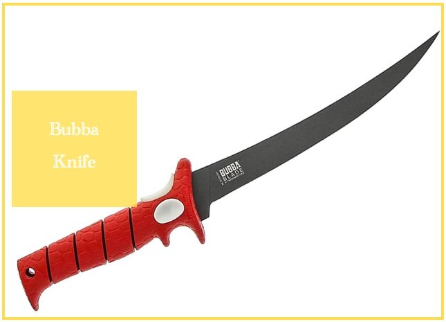 BUBBA Tapered Flex 9 Inch Fillet Knife
